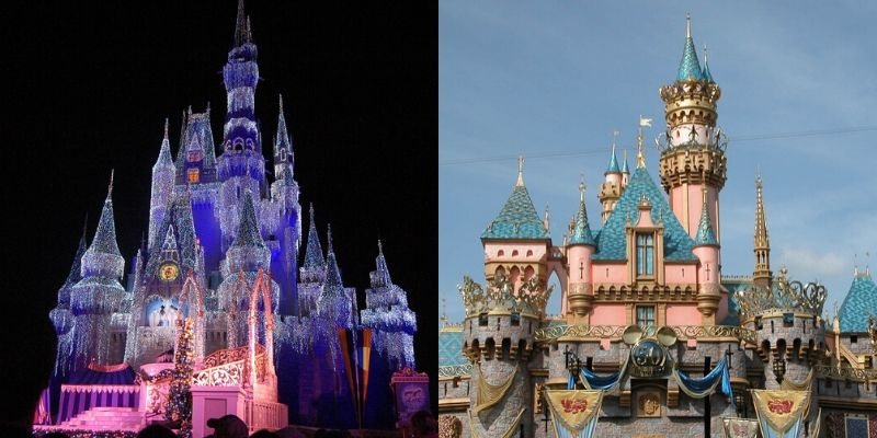 Disney World vs. Disneyland