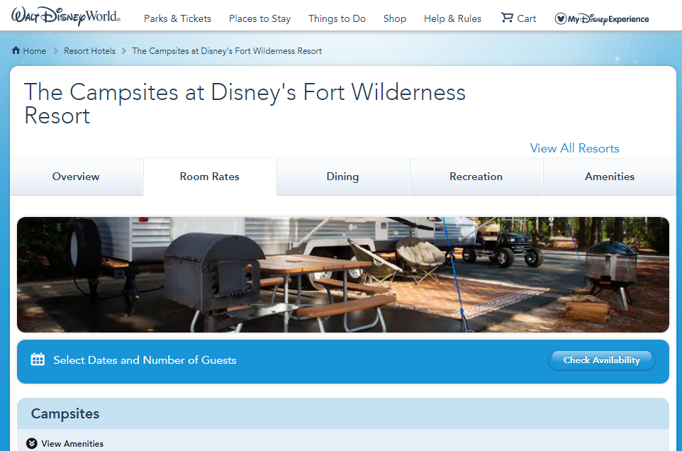 Campgrounds Near Disney World