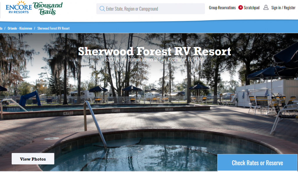 Sherwood Forest RV Resort