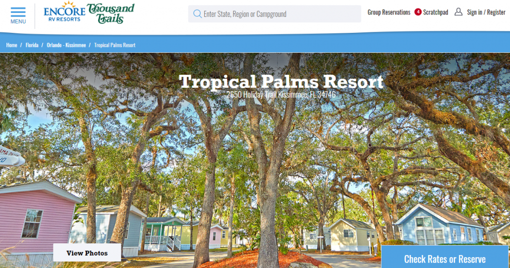 Tropical Palms RV Resort