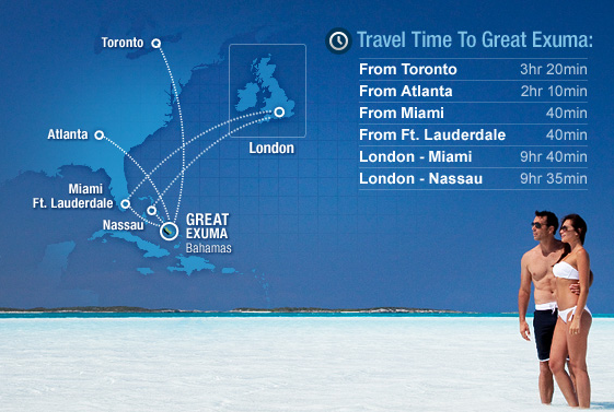 Travel tImes for Sandals Emerald Bay