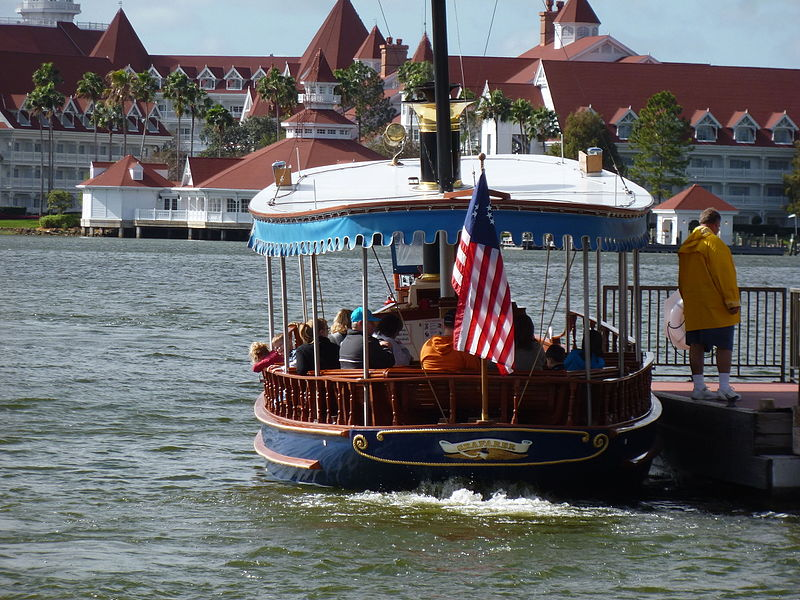Disney Boat for Park hopping