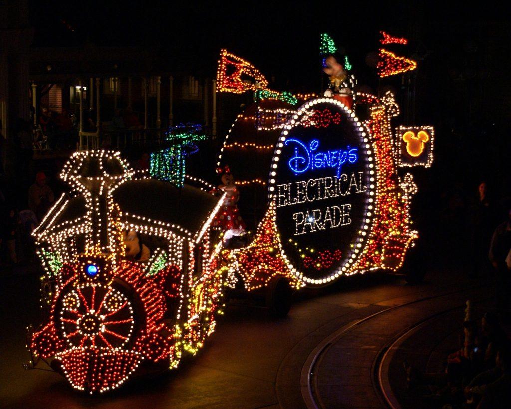 Walt Disney World at NIghttime